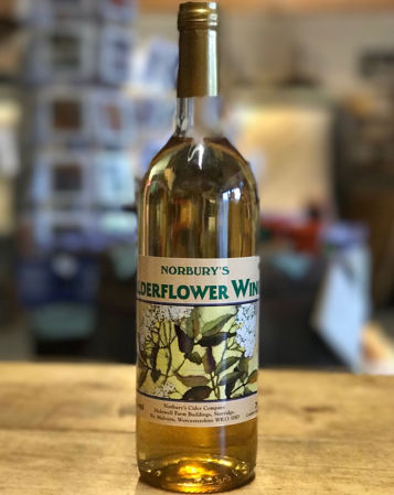 Picture of Norbury's Elderflower Wine