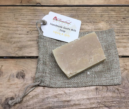 Picture of Rosebud Meadow Honey and Oat Soap