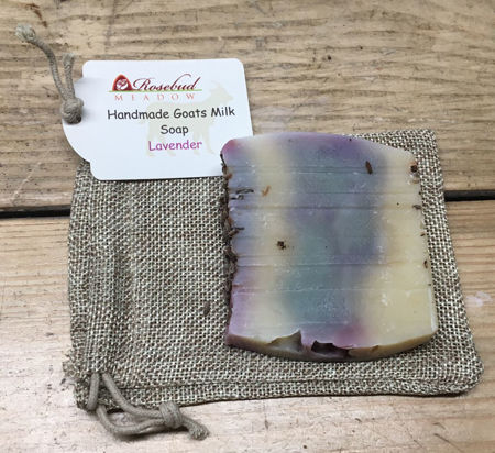 Picture of Rosebud Meadow Lavender Soap