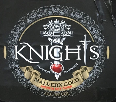 Picture of Knights Draught Malvern Gold