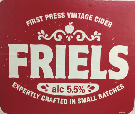 Picture of Friels Vintage Draught Cider
